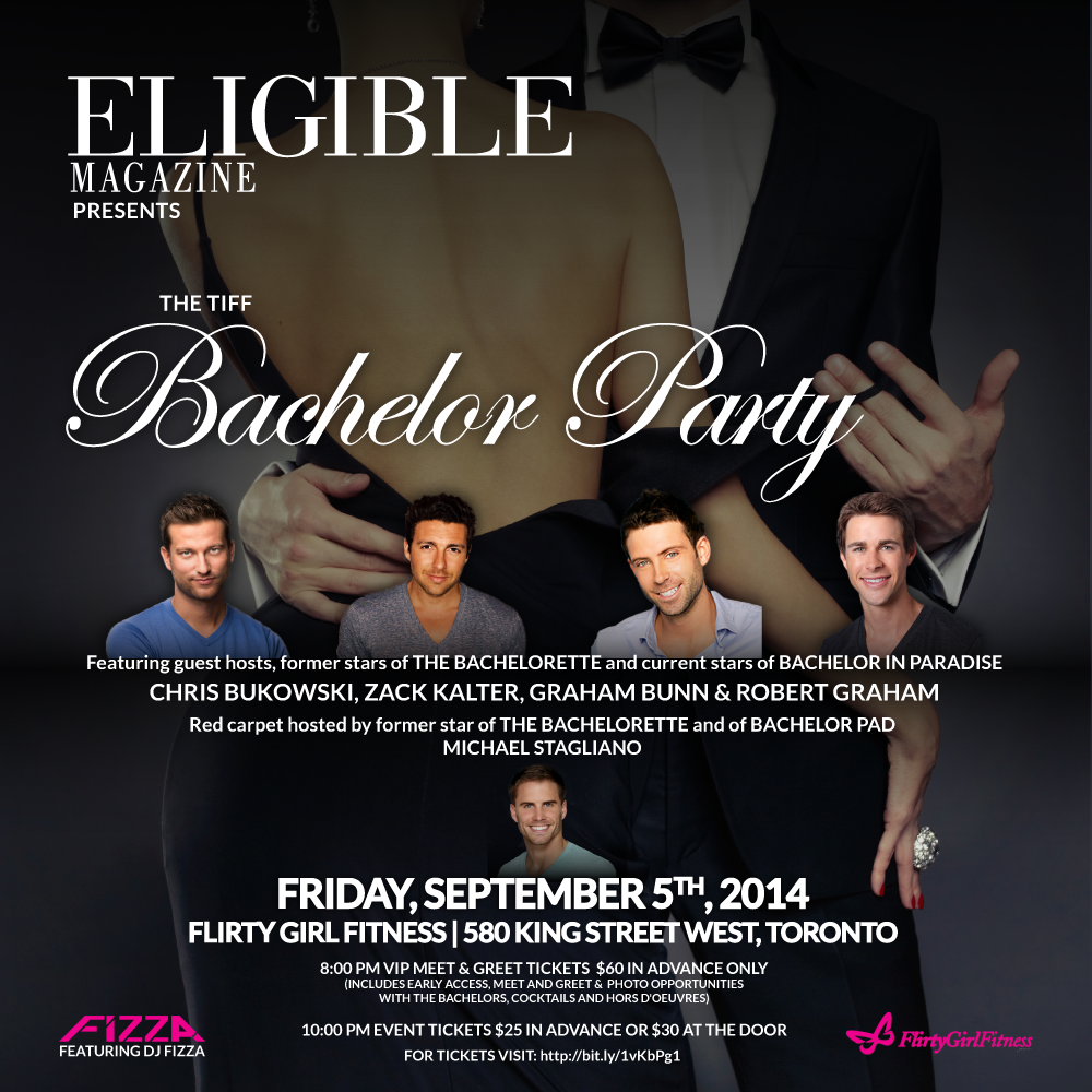 Your chance at an exclusive meet & greet with the gentleman of Bachelor In  Paradise